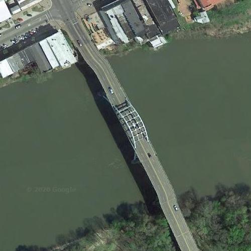 Edmund Pettus Bridge (1965 March on Selma) (Google Maps)