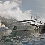 Jay Z & Beyonce's Chartered Yacht (StreetView)