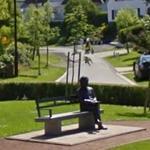 Statue of Albert Einstein (StreetView)