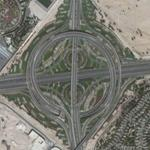 Turbine Interchange in the UAE (Google Maps)