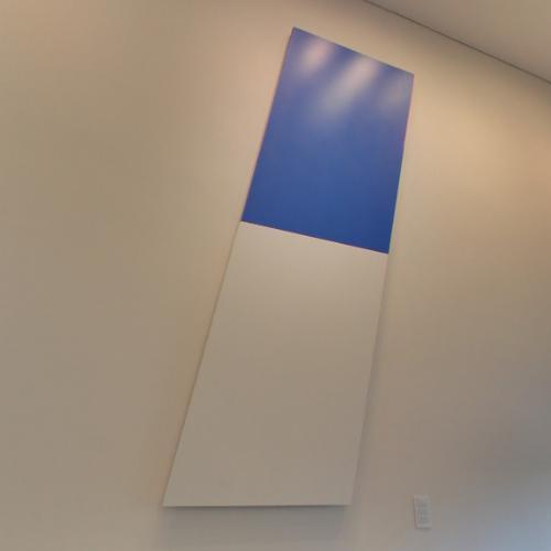 'Blue White' by Ellsworth Kelly (StreetView)