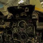 Cockpit of a De Havilland Vampire 115 (XK623) (StreetView)