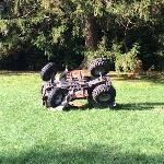 '4-Wheeler Rollover' by Okay Mountain (StreetView)