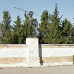Leonidas Monument at Thermopylae (StreetView)