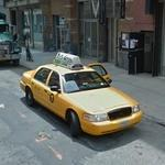Ford Crown Victoria taxi cab (StreetView)