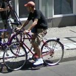 Guy on a bike (StreetView)