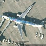 All Nippon Airways Pokemon Peace Jet (Google Maps)