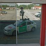 Reflection of the Street View Car