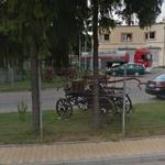 Horse drawn fire engines (StreetView)