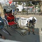 Rickshaw in Kyoto (StreetView)