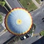 Hot Air Balloon (Google Maps)