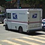 US Postal delivery vehicle