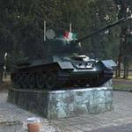 T-34 tank on display (StreetView)
