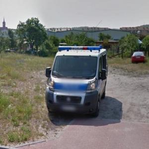 Fiat Ducato IV police van (StreetView)