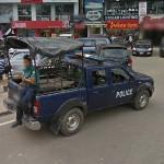 Bangladesh Police car