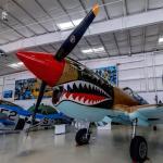 Curtiss P-40 Warhawk (StreetView)