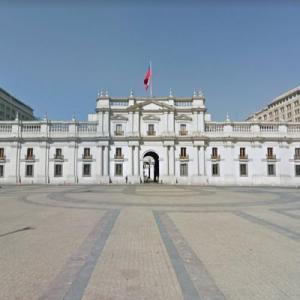 La Moneda Palace (StreetView)