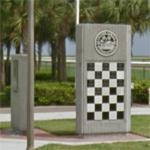 St. Petersburg IndyCar winners monument (StreetView)