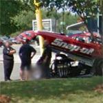 Cruz Pedregon's NHRA Funny Car (StreetView)