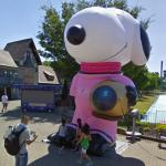 Inflatable Snoopy (StreetView)