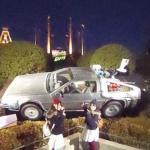 Back to the Future DeLorean time machine (StreetView)