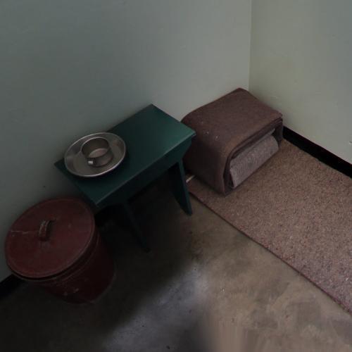 Nelson Mandela's Cell (Robben Island) (StreetView)