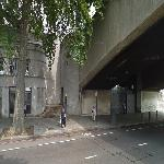 Two Former Southern Tunnel Portals of the Kingsway Tram Subway (StreetView)