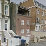 'From the knees of my nose to the belly of my toes' by Alex Chinneck (StreetView)