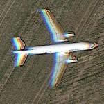 """Air France A320-214(SL) """"80th anniversary"""" special cs (Google Maps)"""