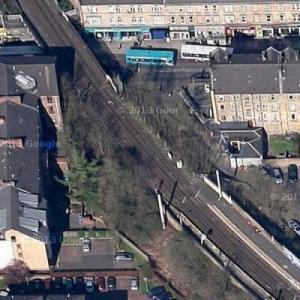 Former Merkland Street Metro Station (Google Maps)