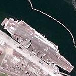 USS Nimitz (CVN-68) (Google Maps)
