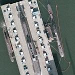Three submarines at Howaldtswerke-Deutsche Werft