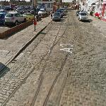 Remains of the Portsmouth Corporation Tramway (StreetView)