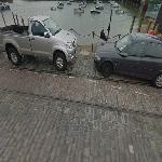 Remains of Tram Tracks at Folkestone Harbour (StreetView)