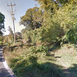 Remains of the Washington and Great Falls Electric Railroad (StreetView)