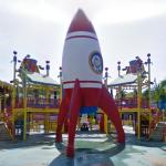 Curious George's Rocket (StreetView)