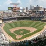 Minnesota Twins vs San Diego Padres (August 6, 2014) (StreetView)