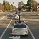 Google Streetview Camera Car