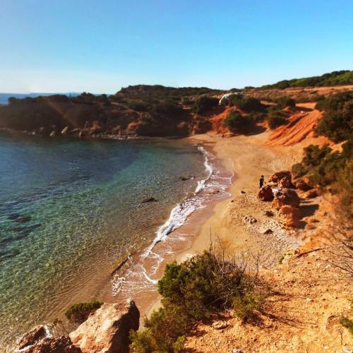 Agios Petros Beach (StreetView)