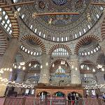 Inside Selimiye Mosque (StreetView)