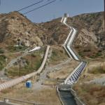 The Second Los Angeles Aqueduct Cascades (StreetView)