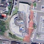 Kamioka Town Hall by Arata Isozaki (Google Maps)