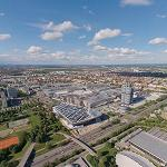 View from Olympiaturm (StreetView)