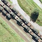 Train of tanks (Google Maps)