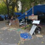 Occupy Portland protest camp (StreetView)