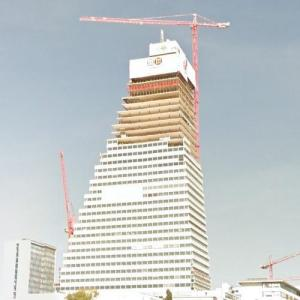 Roche Tower under construction (StreetView)