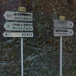 Non-Corsican spellings defaced