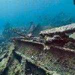 Google Maps Underwater (SS Antilla Shipwreck)