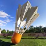 'Shuttlecocks' by Claes Oldenburg and Coosje van Bruggen (StreetView)