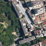 3 buildings at Parque Eduardo Guinle by Lucio Costa (Google Maps)